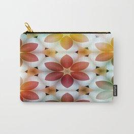 Polarized Flower Geometrics Carry-All Pouch