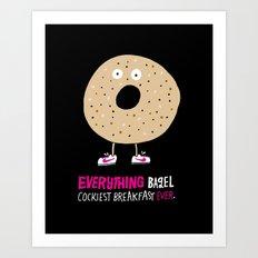 Everything Bagel Art Print