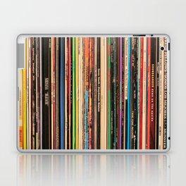 Alternative Rock Vinyl Records Laptop & iPad Skin
