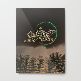 As far as the East is from the West Metal Print