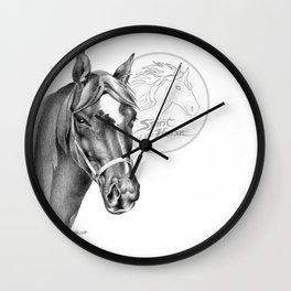 Barney the Hunter: Spirit of the Horse Wall Clock