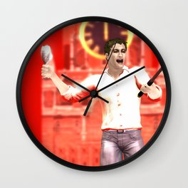 SquaRed: Cheers Wall Clock