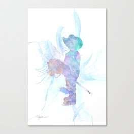 10837 The Cowboy Canvas Print