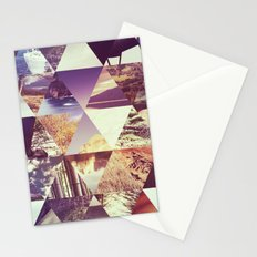 Trianglescape Stationery Cards
