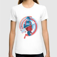 winter soldier T-shirts featuring The Winter Soldier by Florey