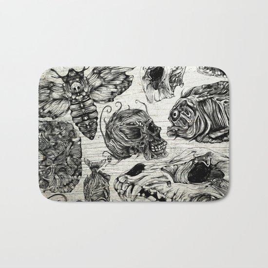 Bones and Co Bath Mat