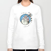 gandalf Long Sleeve T-shirts featuring Gandalf the White Detergent by Faniseto