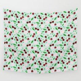 Cherries Wall Tapestry