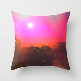 Bloo Woods Throw Pillow