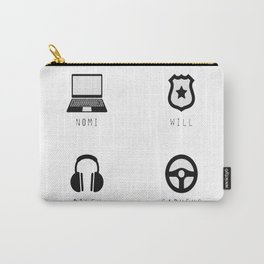 Sense8 Characters Logo Carry-All Pouch