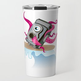 Monster Camera Surfing Travel Mug