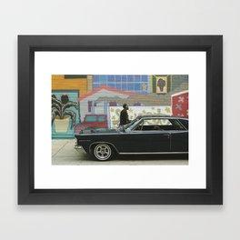 Motor City Framed Art Print