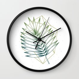 Geometry and Nature IV Wall Clock