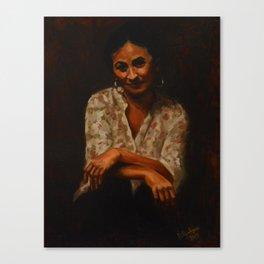 Spanish Woman Canvas Print