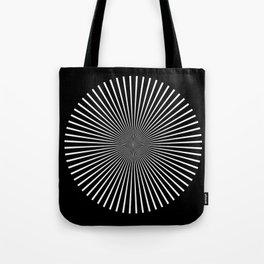 Op Art Flash (Minimalist Design) Tote Bag