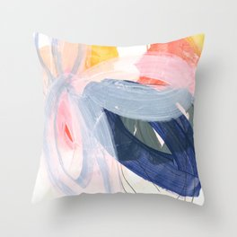 abstract painting XVII Throw Pillow