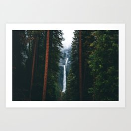 Yosemite Falls - Yosemite National Park, California Art Print