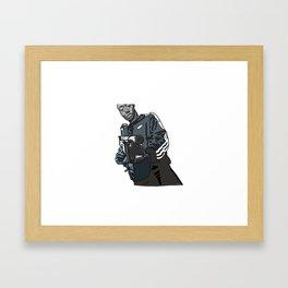 Gangsta Gibbs Framed Art Print