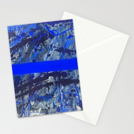 Blue Line of Sorrow Stationery Cards