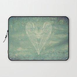 Battered Vintage Heart Laptop Sleeve