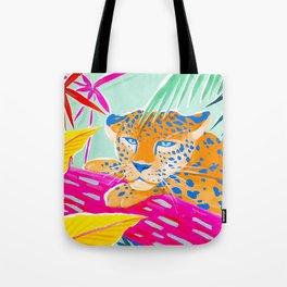Vibrant Jungle Tote Bag