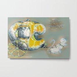 """ Harvest Mouse "" Metal Print"