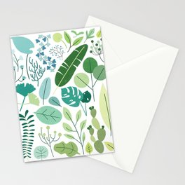 Botanical Chart Stationery Cards