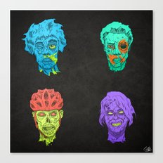 Zombie Quartet Canvas Print