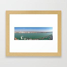 venice skyline Framed Art Print