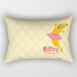 Just Dance with Banana Ballerina Rectangular Pillow