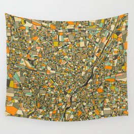 MUNICH MAP Wall Tapestry