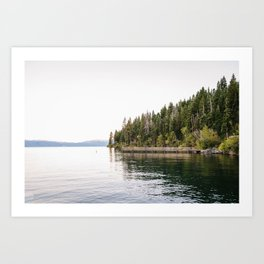 LAKE TAHOE 5 Art Print