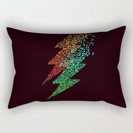 Electro music Rectangular Pillow