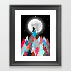Wofl XOX Framed Art Print