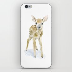Deer Fawn 2 Watercolor Painting iPhone & iPod Skin