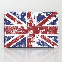 uk iPad Cases featuring Grunge UK by Sitchko Igor