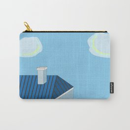 Blue roofs Carry-All Pouch