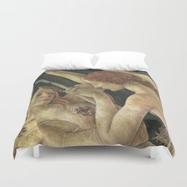 At First Blush Duvet Cover