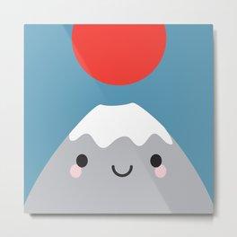 Mt Fuji Metal Print