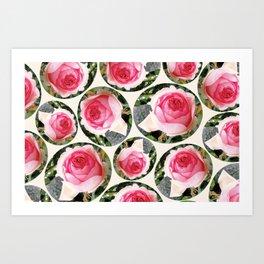 Rosas Art Print