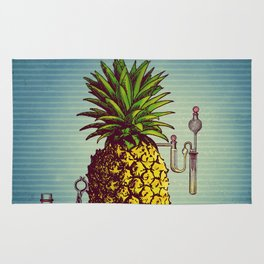 The Pineapple Experiment Rug