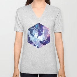 D20 Dragon Bright Soul Unisex V-Neck