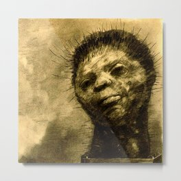 "Odilon Redon ""Cactus Man"" Metal Print"