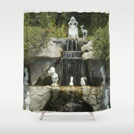 Snow's Waterfall Shower Curtain