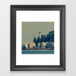 Space Nozzle Framed Art Print
