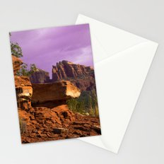 Red Desert Day II Stationery Cards
