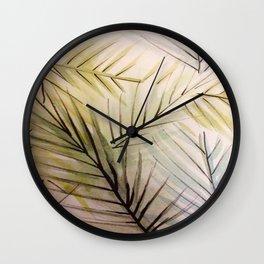 Ferny Wall Clock