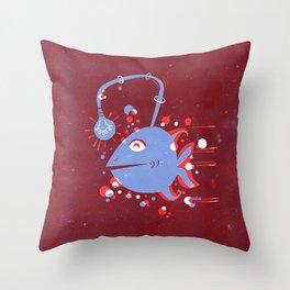 Fish of ideas Throw Pillow