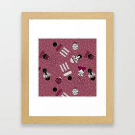 geometric IIII Framed Art Print