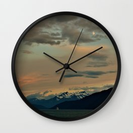Skagway Serenity Wall Clock